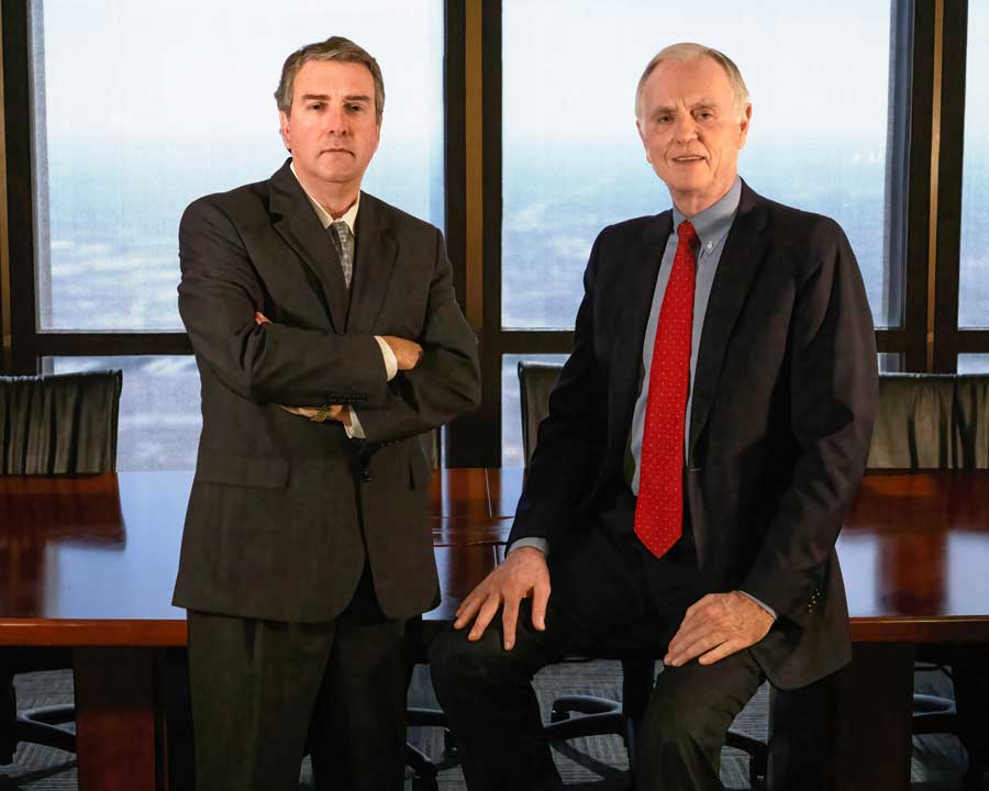 Timothy Stanford and Jay Downs, Founders of Downs & Stanford, P.C.